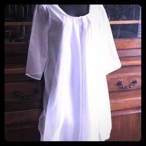 Gossamer-Lovely White Tunic